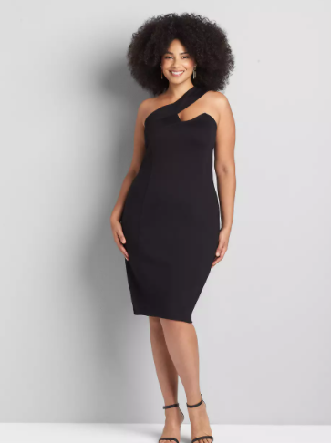 black plus size date night dresses
