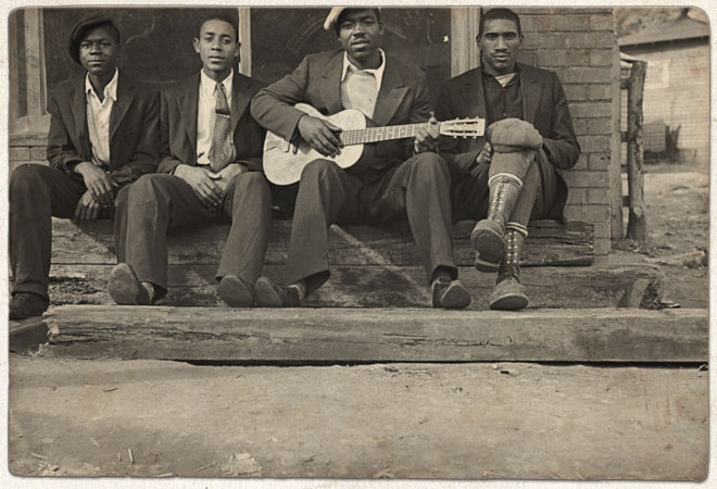 Blues music in the Great Depression