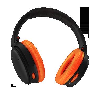 Professional Headphones_orange