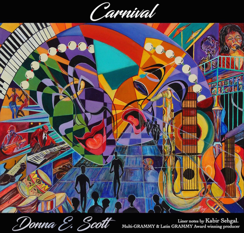 donna scott album cover
