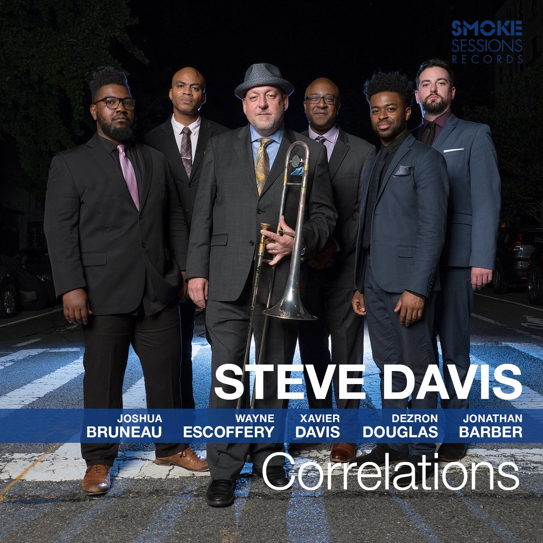 Steve Davis CORRELATIONS Cover 1500px