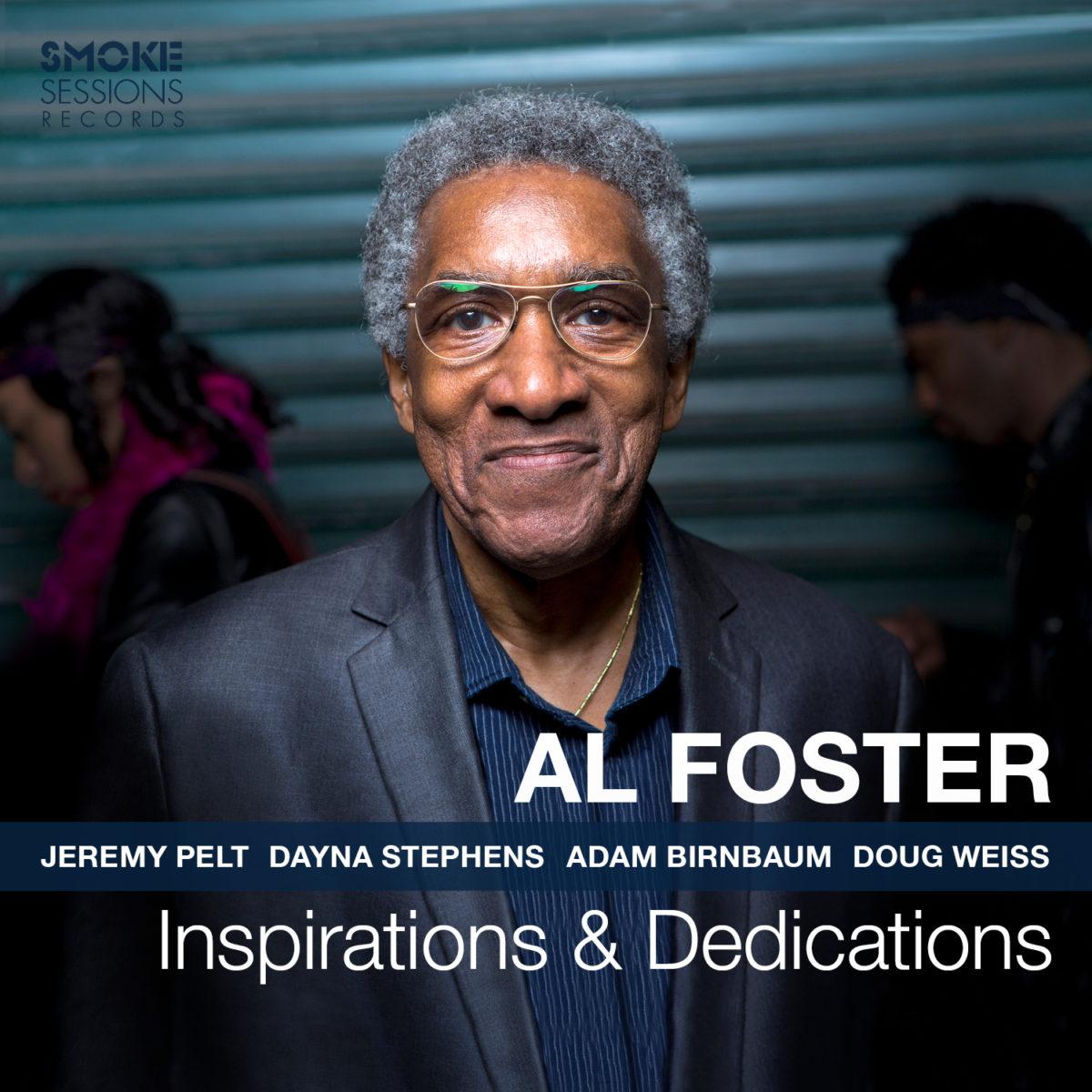 Al Foster INSPIRATIONS & DEDICATIONS Cover 1500px