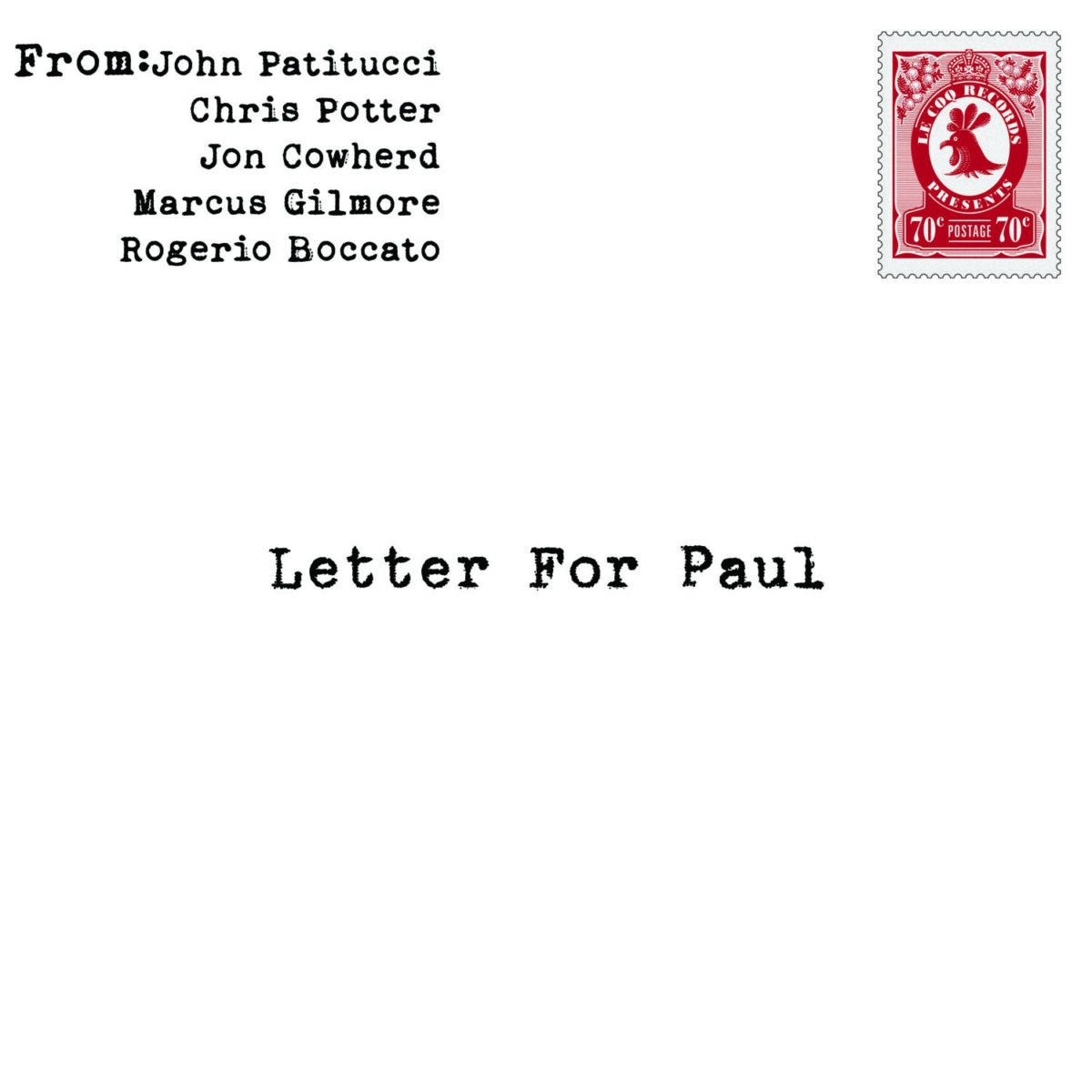 Letters for Paul Artwork