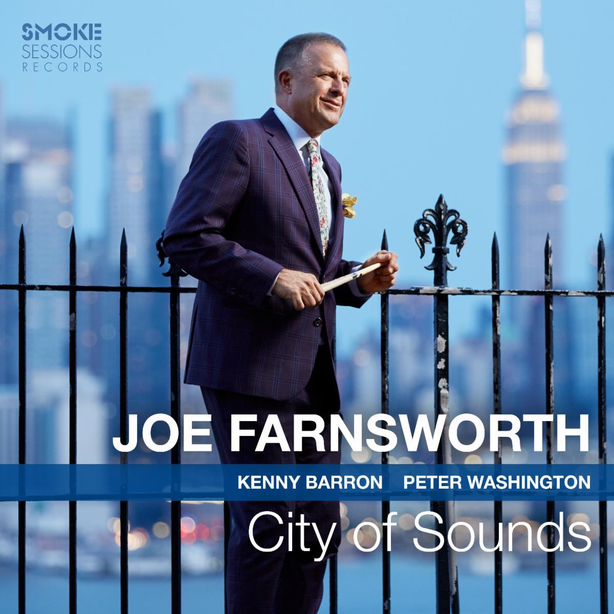 Joe Farnsworth CITY OF SOUNDS Cover 3000px