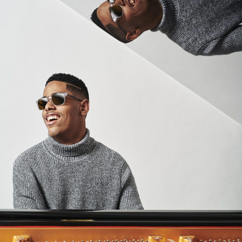 February 8, 2019 - Jazz pianist Matthew Whittaker, album packaging photography for 'Now Hear This'
