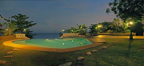 swimming pool in ananya coast
