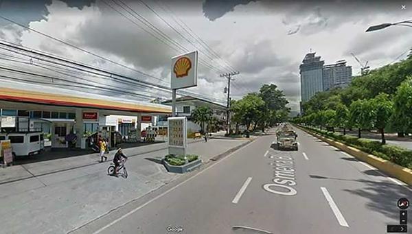 location of the condominium at the heart of cebu city