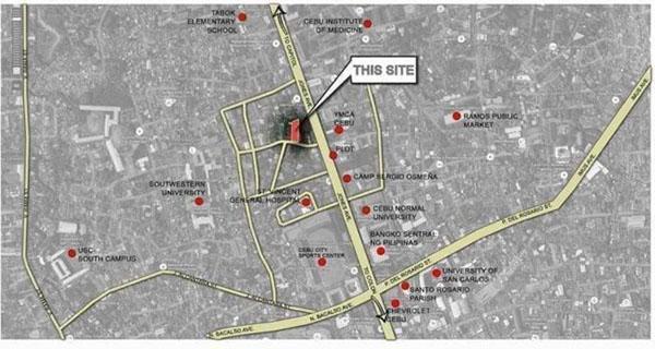 location of the condominium