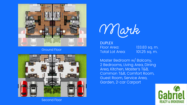 mark model unit floor plan