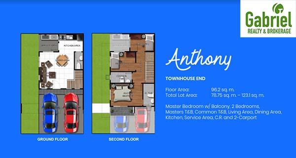 townhouse floor plan 1