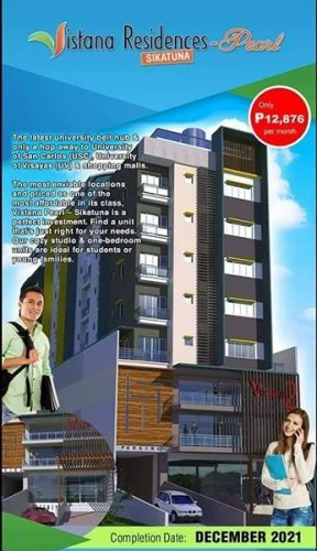 vistana residence - pearl sikatuna, designed for students and young professionals