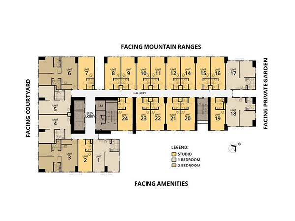 tower 4 typical floor plan