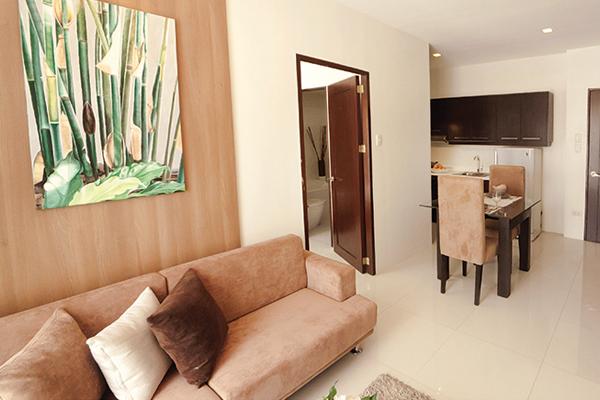 36 sqm fully furnished ONE BEDROOM condominium