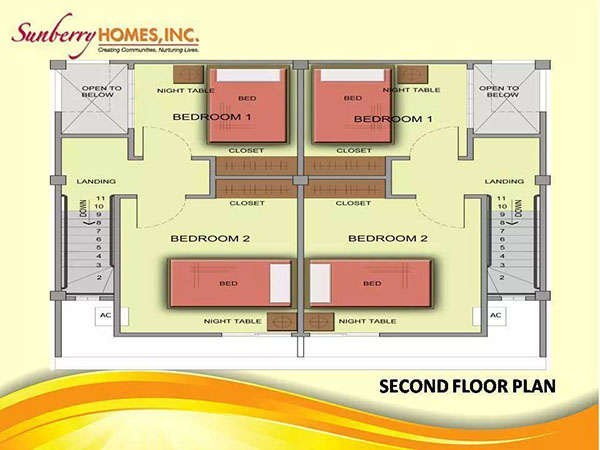 sunberrry townhouse floor plan