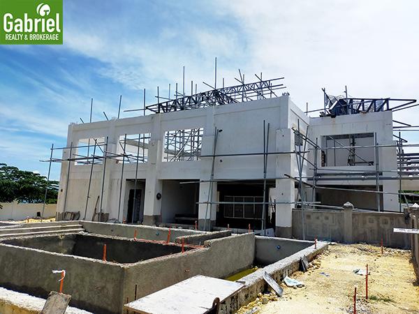 swimming pool construction update of valle verde mactan