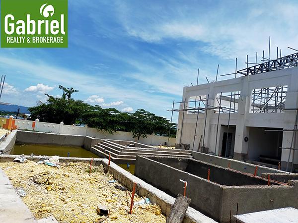 construction update of villa verde cebu mactan clubhouse