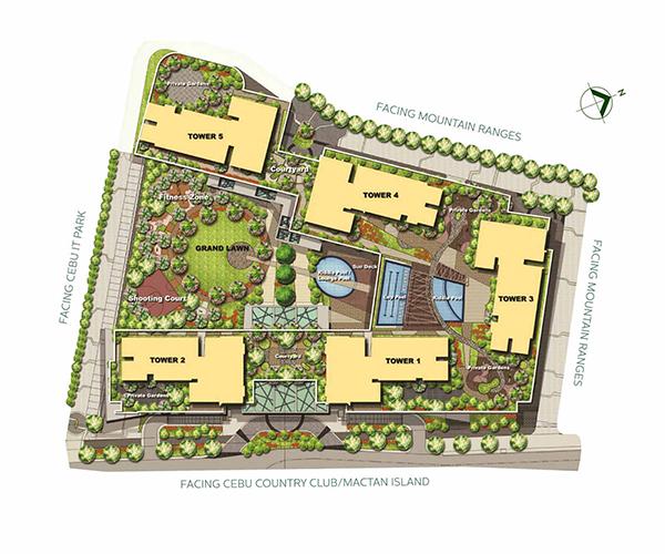 site development plan or master plan of the condominium