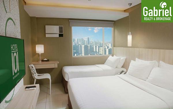 hotel 101 cebu floor lay out