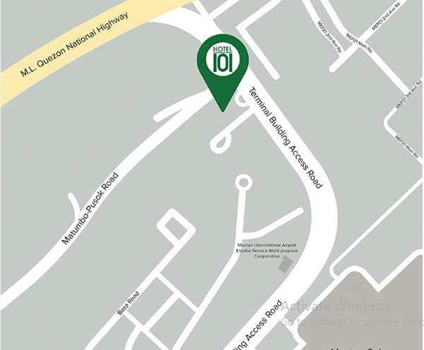 location of hotel 101 cebu
