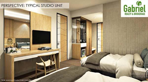 condotel studio unit