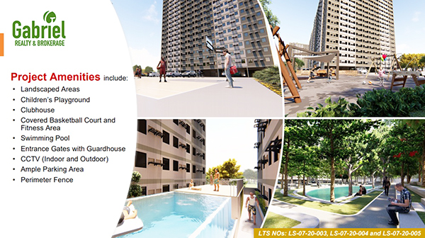 project amenities in urban deca homes banilad