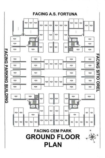 parking floor plan of deca banilad