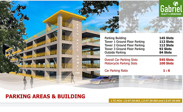 parking areas and parking building in deca banilad