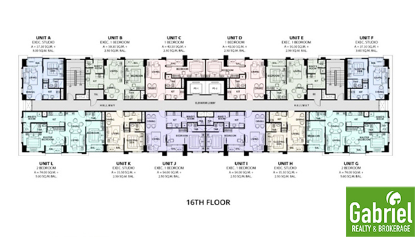 la victoria global residences floor plan