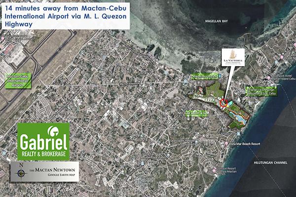 location of la victoria global residences