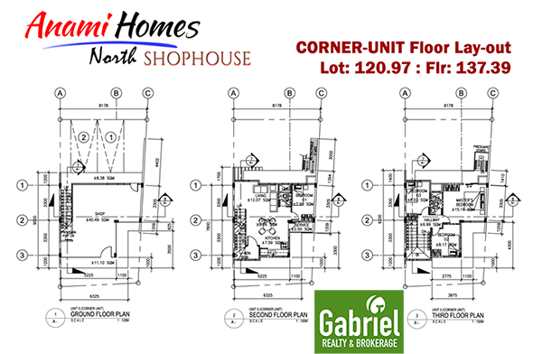 shophouse floor plan in anami homes north