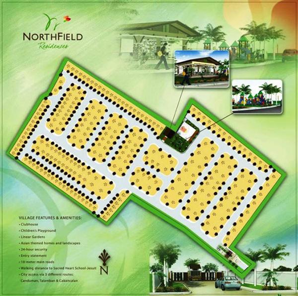 site development plan of northfield residences mandaue