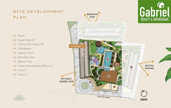 site development plan of mandtra residences