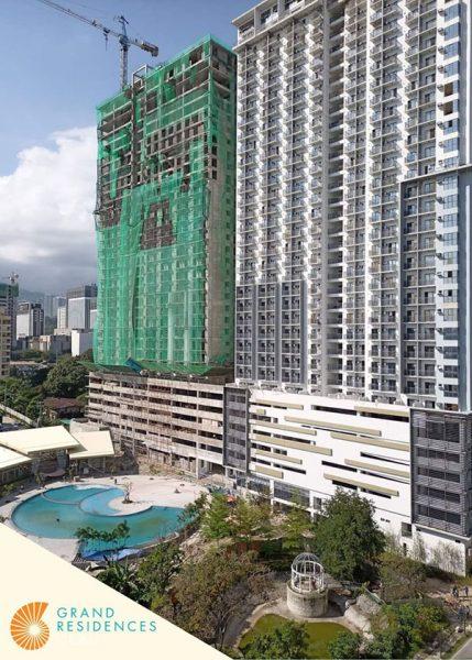 grand residences, rent to own condominium in cebu it park