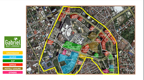 vicinity map of lucima residences