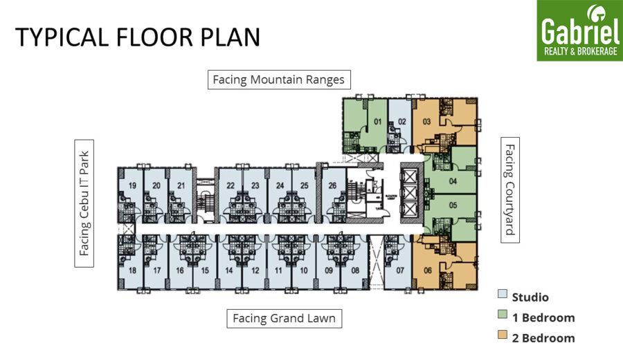 avida tower 5 building floor plan
