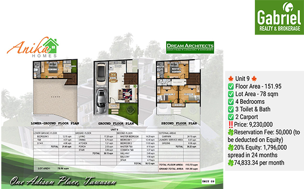 anika homes tawason, house and lot for sale in cebu