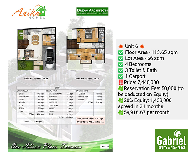 one adison place, preselling house for sale in cebu