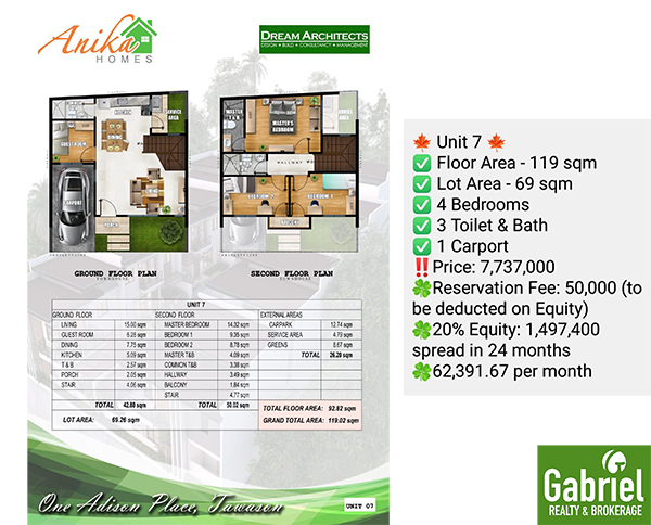 one adison place, house for sale in cebu city