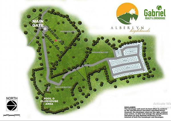 site development plan, alberlyn highlands