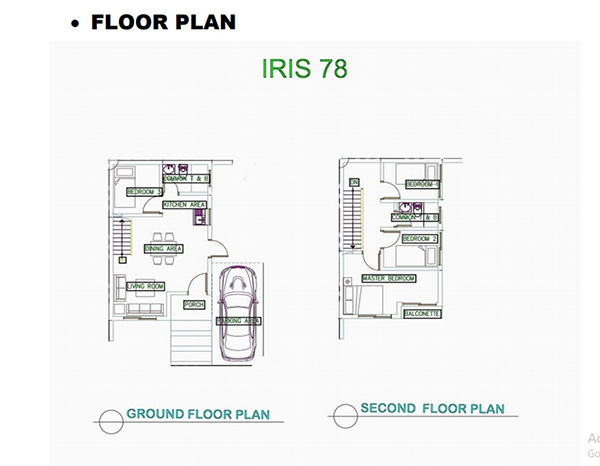irish 78 model house floor plan