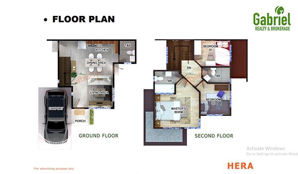 hera 105 model floor plan