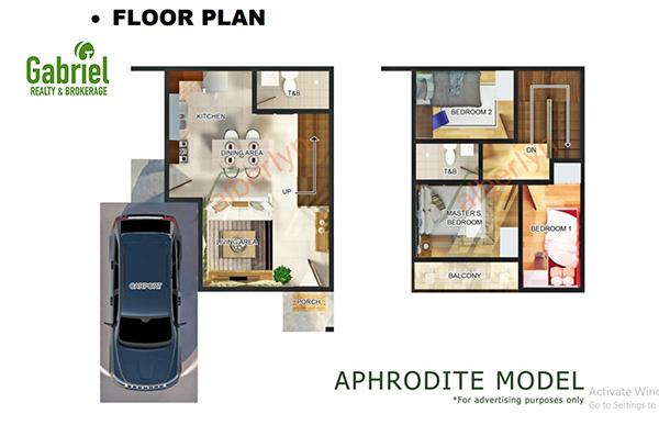APHRODITE floor plan, alberlyn highlands