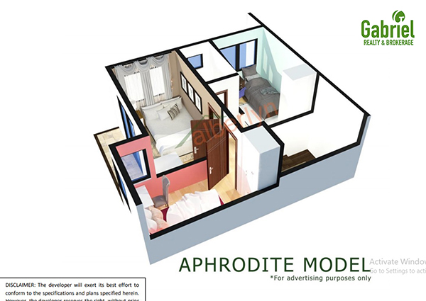 aphrodite model floor plan