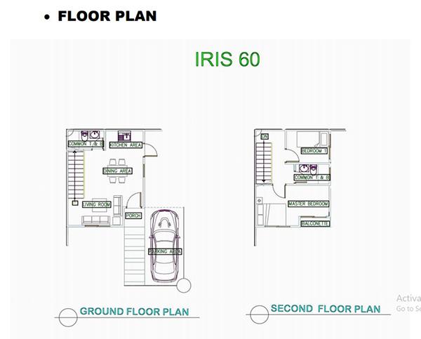 irish 60 floor plan