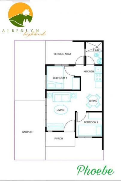 phoebe model house floor plan