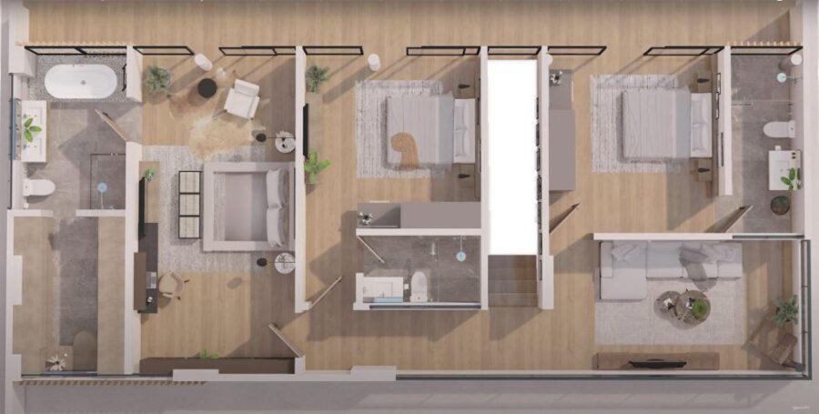 monterrazas prime 2nd floor plan