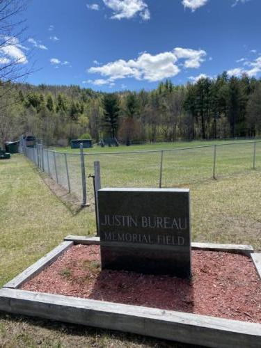 Justin Bureau Memorial Field Spring 2021