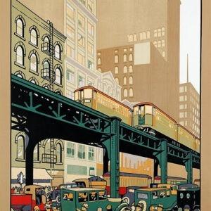 Vintage Chicago Poster