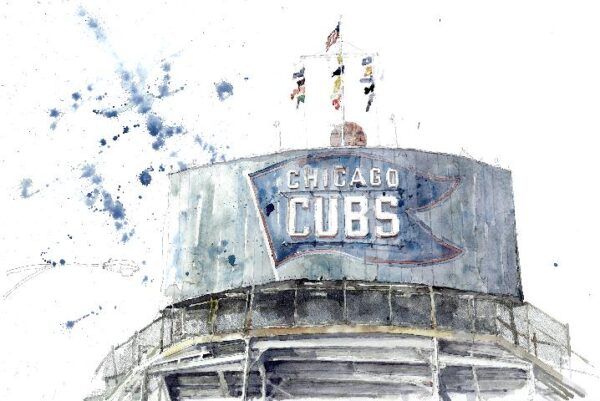 Chicago-Cubs-sign Local Chicago Art
