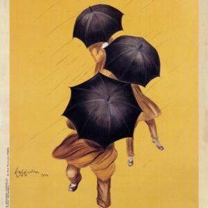 Leonetto Cappiello. Parapluie Revel